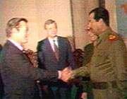 صدام و رامسفلد