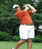 un golfeur