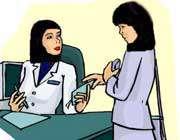 معاینه پزشک