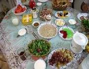национальная кухня иpана