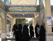 بازدید اعضای انجمن نصفجهان تبیان از مجموعه تخت فولاد اصفهان