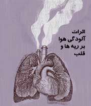 تاثیر آلودگی هوا بر رویه ریه ها