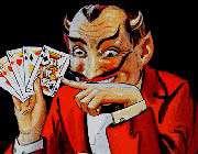 gambling satanic act