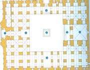 plan de la mosquée du vendredi