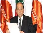 رئيس كتلة التغيير والاصلاح البرلمانية في لبنان عون