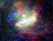 درخشانترين منطقه ستاره ساز