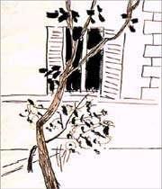 une peinture de sohrãb sepehri