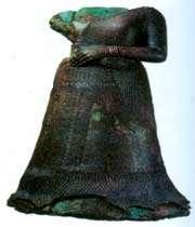 slalue en bronze de la reine élamite napira.su, ~xiv s. musée du louvre, paris.