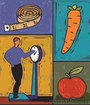 رژیم غذایی و چاقی