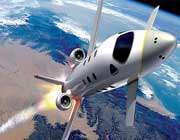 هواپیمای مخصوص سفرهای فضایی