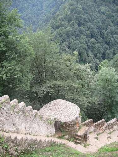 قلعه رودخوان  roudkhan castle