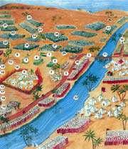 champ de bataille dans le désert de karbalã le 10 muharram 61