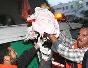 baby rush to hospital