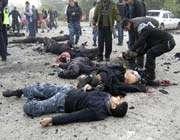 death bodies of innocent civilians