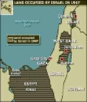 israel map