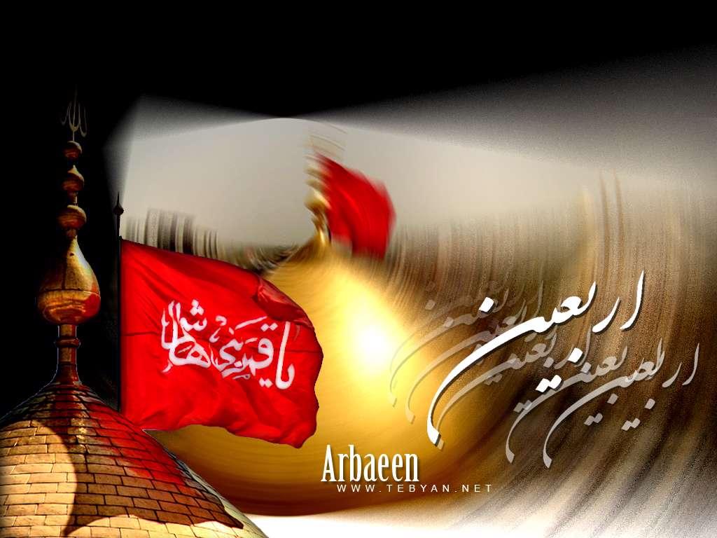 اربعین حسینی السلام علیک یا ثارالله و ابن ثاره