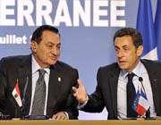 سارکوزی و مبارک در شرم الشیخ