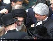 مقام معظم رهبری و خاخام یهودی ضد صهیونیست