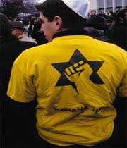 en france, une milice paramilitaire sioniste: la ligue de défense juive