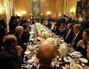 dîner de travail lors du sommet du g20 à londres