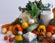 شير و سبزيجات