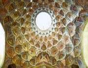 coupole central du palais hasht behesht