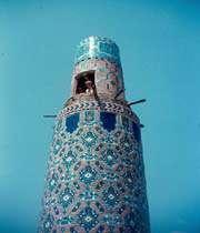 minaret in mashhad