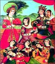 qahveh khanehei painting