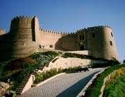 falak-ol-aflak castle in lurestan