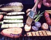 کباب کردن سبزيجات