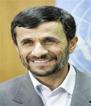 le président iranien réélu mahmoud ahmadinejad