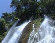 bishe waterfall in lurestan