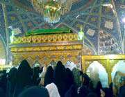 hazrat zainab's shrine
