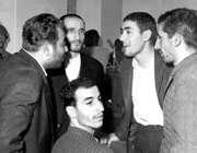عاملین ترور منصور:صادق امانی، رضا صفارهرندی، مرتضی نیكنژاد و محمد  بخارایی