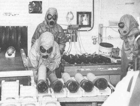 جنگ افزارهای شیمیایی