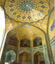 entrée de la madrasa