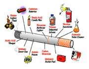 inside the cigarette