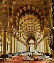 inside the prophets mosque