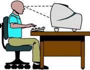 مراقبت از چشم در کار با کامپيوتر