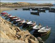 chabahar beach in the south of sistan & baluchistan