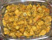 خوراک فیله مرغ با قارچ