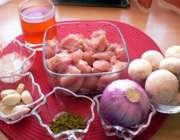 مواد لازم خوراک فیله مرغ با قارچ