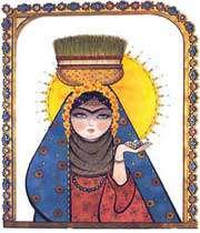ایرانی خاتون