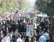 al quds day march in iran