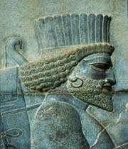 perse. bas-relief de persépolis