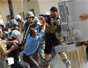 الشرطة العراقية تداهم معسكر اشرف