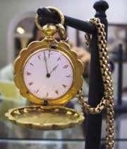montre à gousset fabriquée en suisse