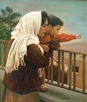 une mère et son enfant