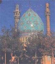 qom jame mosque