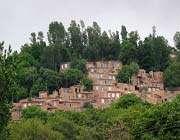 روستایی پلکانی در ارتفاعات آذربایجان شرقی